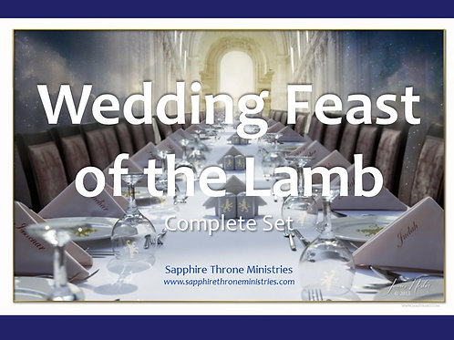WEDDING FEAST OF THE LAMB COMPLETE SET
