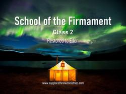 School of the Firmament - Class 2 NoDate