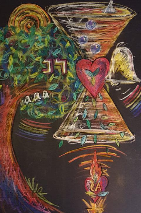 MM ARTIST'S ASCENSION #2 - Original Art