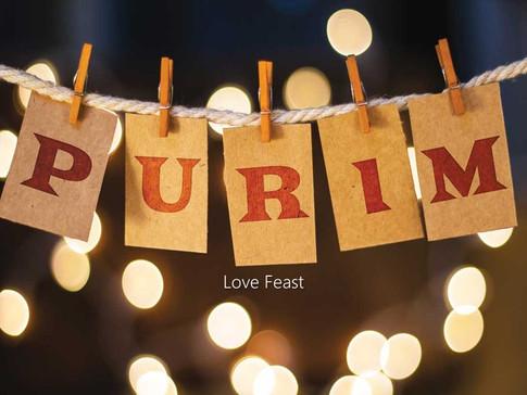 THE LOVE FEAST OF PURIM