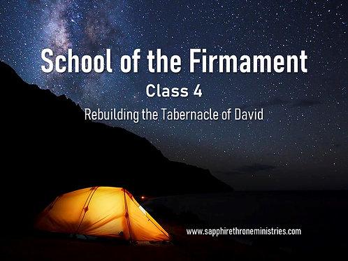 REBUILDING THE TABERNACLE OF DAVID