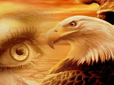 MELCHIZEDEK'S GOLDEN EAGLE EYES