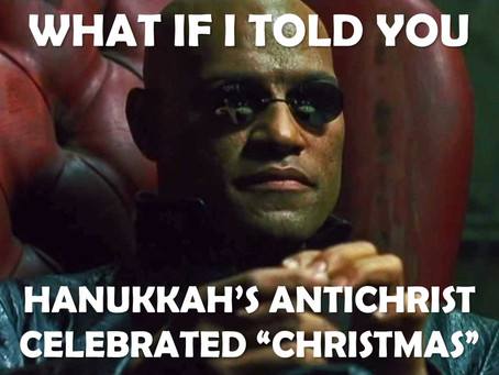 THE ANTICHRIST CELEBRATED CHRISTMAS