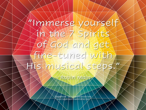 IMMERSE IN 7 SPIRITS OF GOD