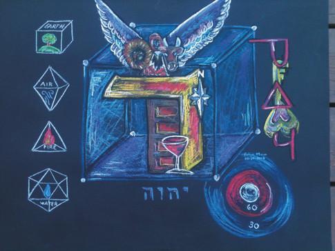"""HEBREW LIVING LETTER ™ - DALET - DOOR TO """"I AM"""""""