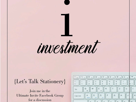 I = Investment
