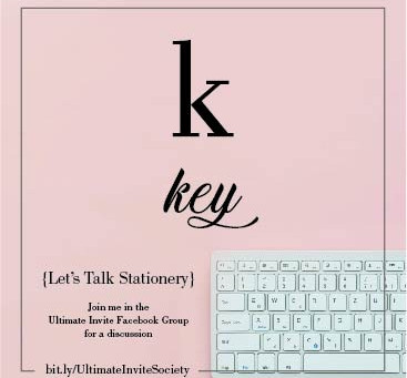 K = Keys | Cheatsheet {MUST HAVE}