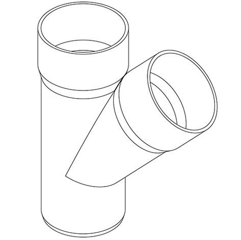 BRAGA A 45° PVC R