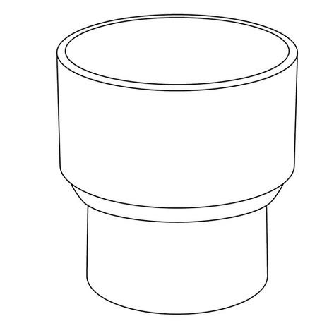 RIDUZIONE CONCENTRICA PVC R
