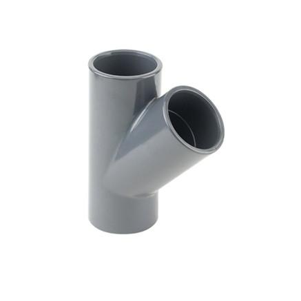 TI A 45° PVC PLASSON