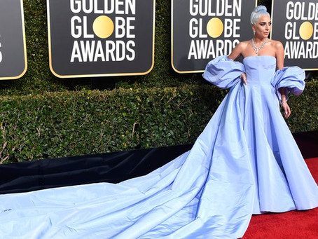 Lady Gaga's Golden Globes Dress – In The Lost & Found?
