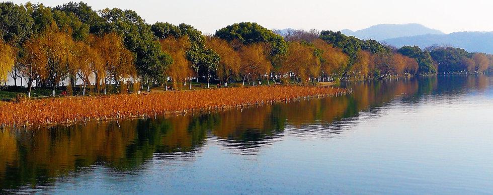 Su causeway, Hangzhou