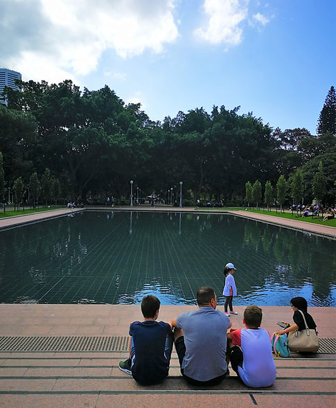Pool of Reflection, Sydney