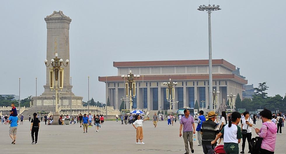 Tiananmen square, Bejing