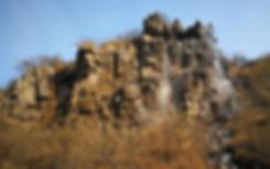 Colorful grand canyon, Luoyang