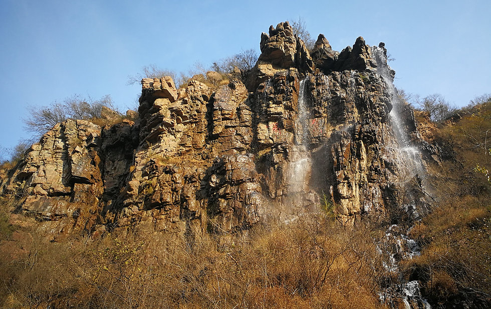 Colorful grand canyon, Luoyang