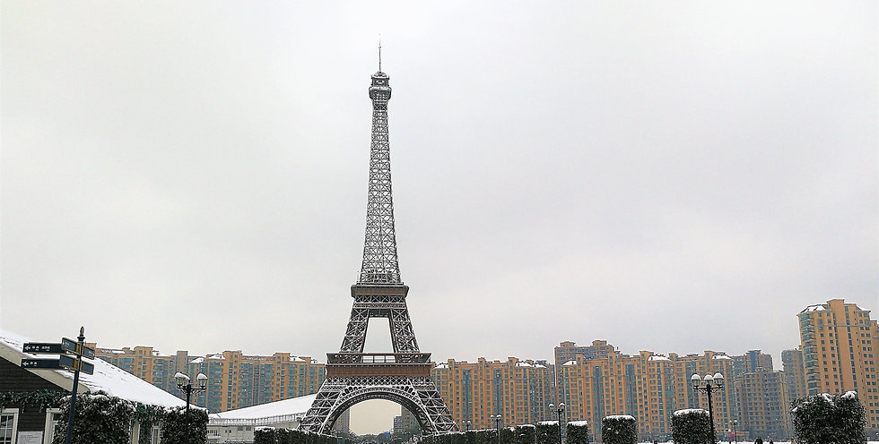 Eiffel tower in Hangzhou