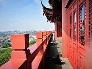 Hangzhou, City God pavilion