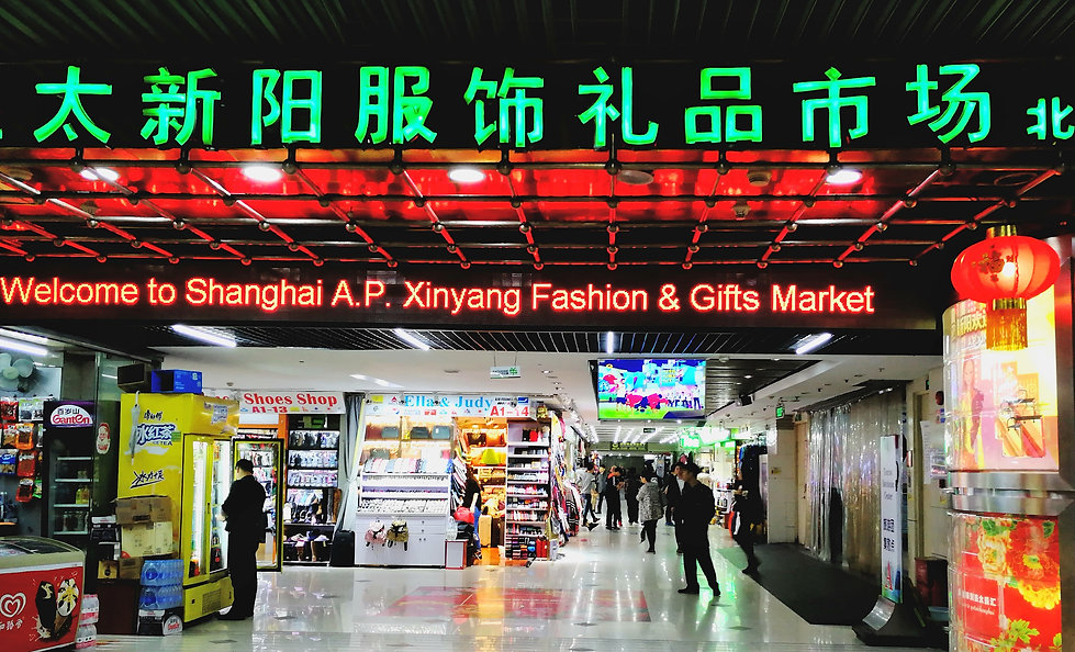 Shanghai copy market
