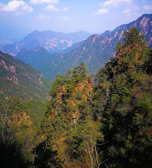 Kilátás a Daming-hegyről
