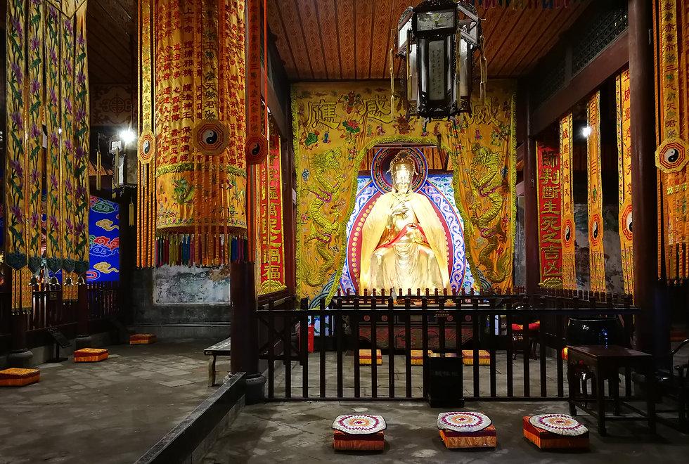 Chenghuang temple, Dujianyan