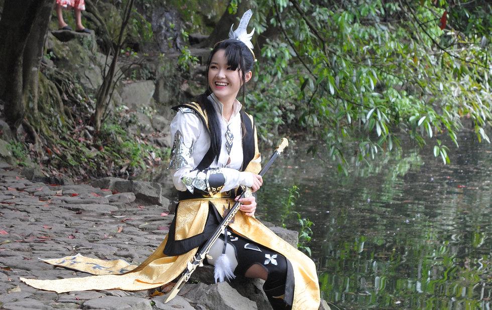 Fantasy photo at Nine creeks, Hangzhou
