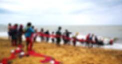 Fishermen, Negombo beach, Sri Lanka