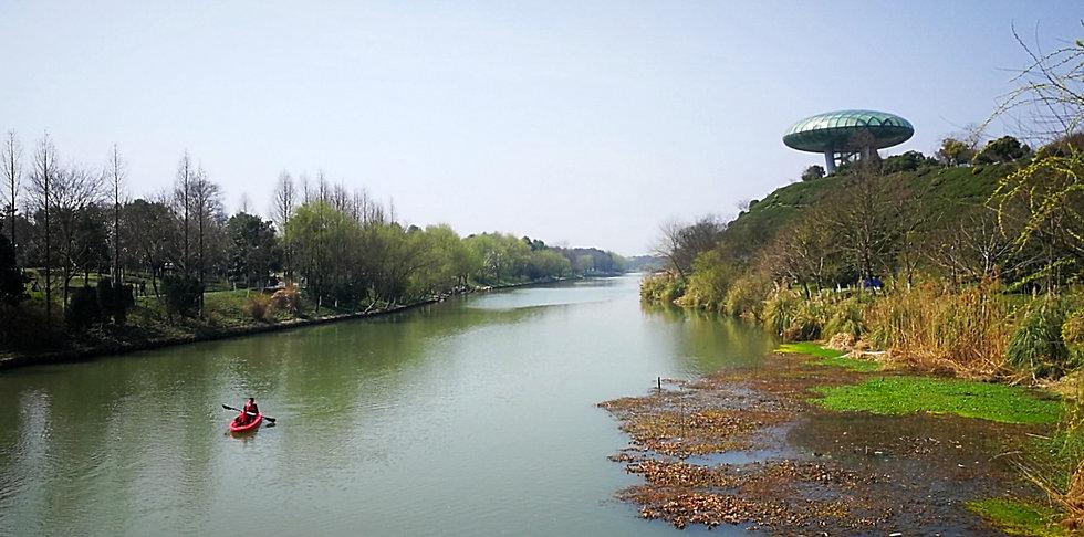Kayaking at Xixi