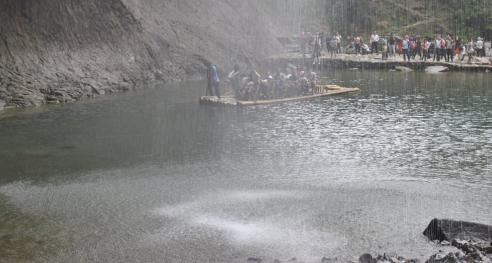 Big dragon waterfall, Yandangshan