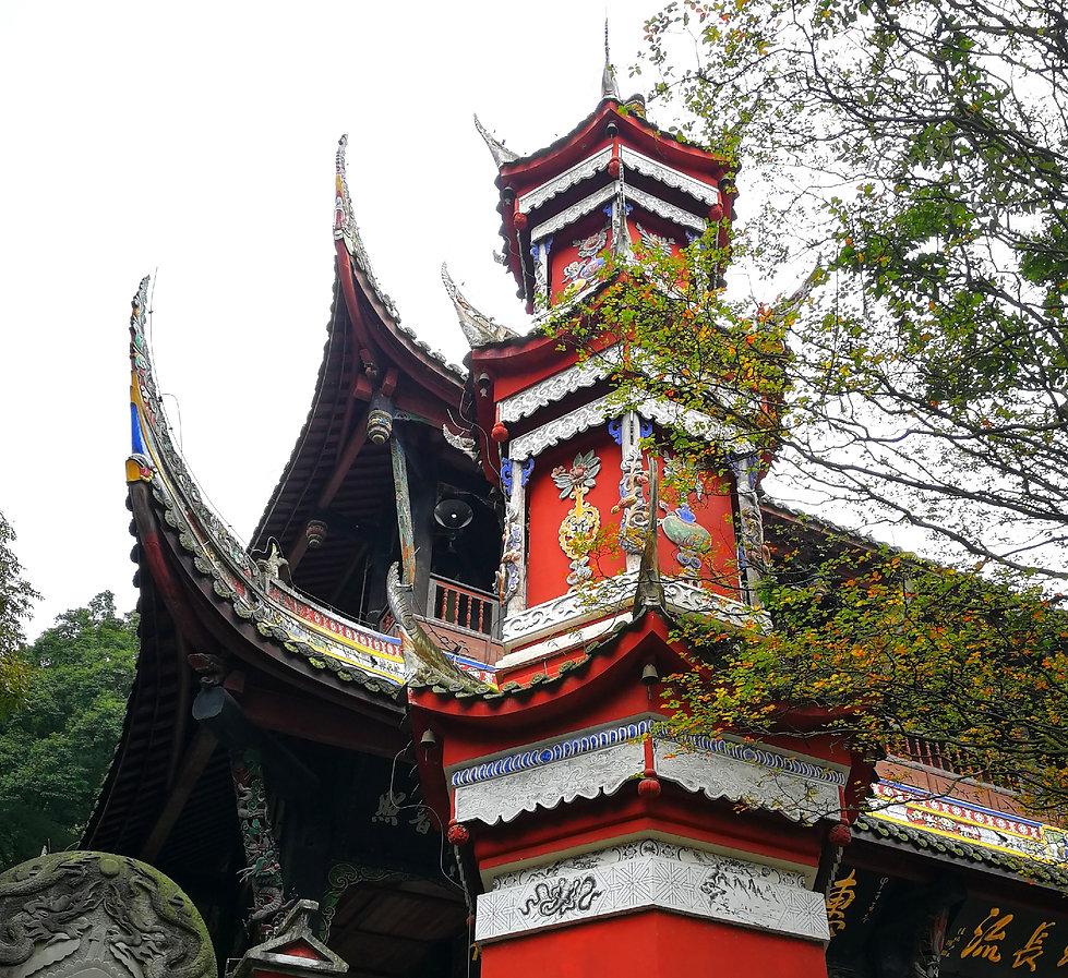 Dujiangyan, Erwang temple