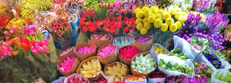Flower market, Wulin square, Hangzhou