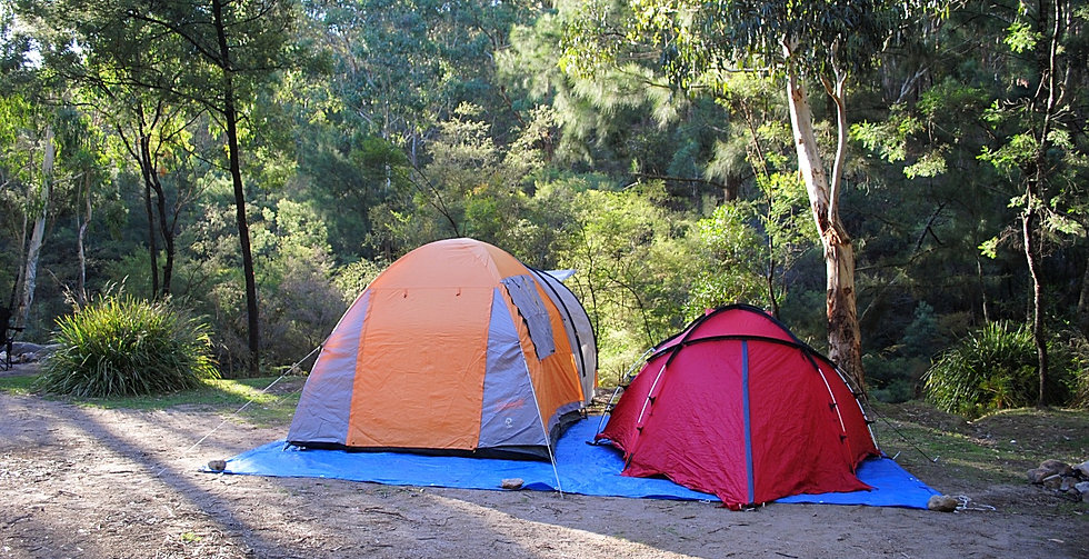 Wollemi National Park, camping at Newnes