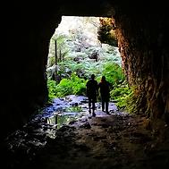 Blue mountain, Glow worm tunnel, Australia