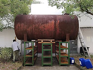 Oil tank, China