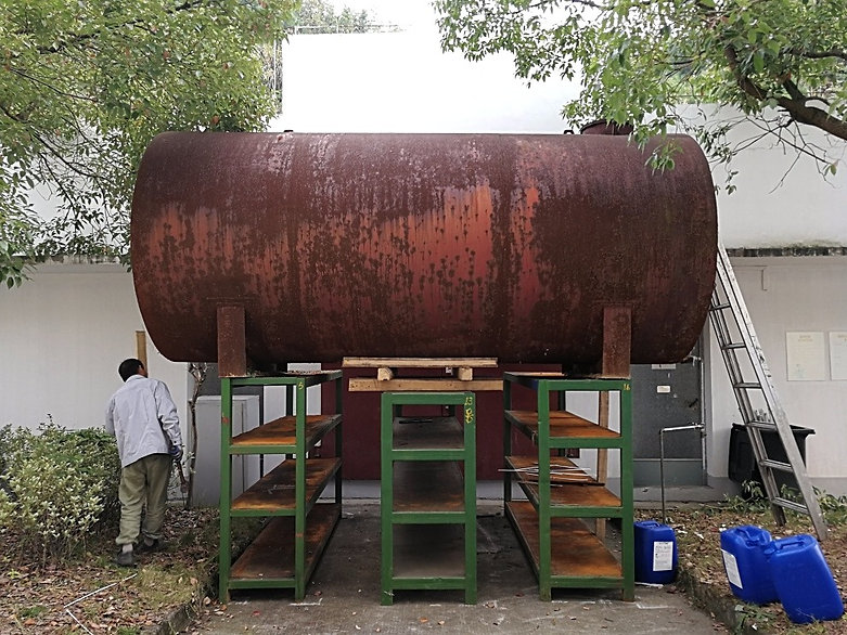 Oil tank in China