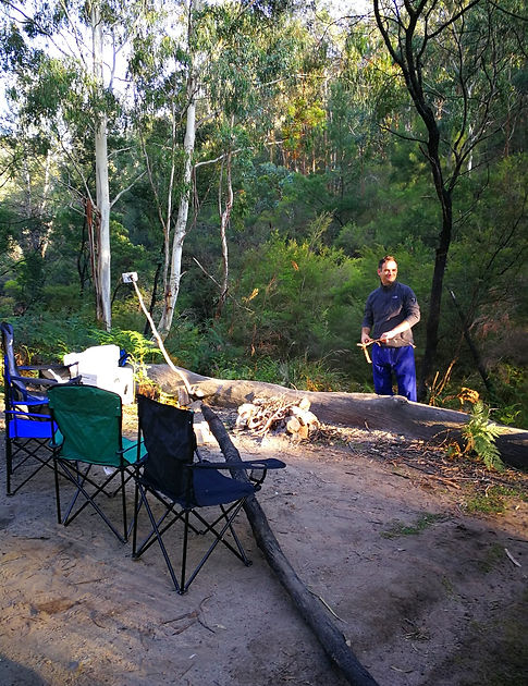 Morning at Newnes, Australia