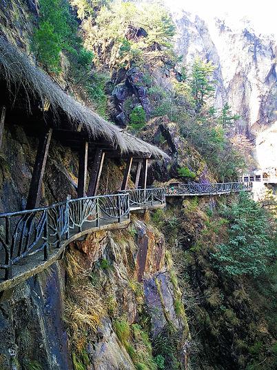Damingshan Fairyland secret passage