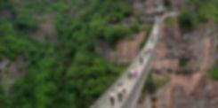 Hanging-bridge, Nineteen peaks