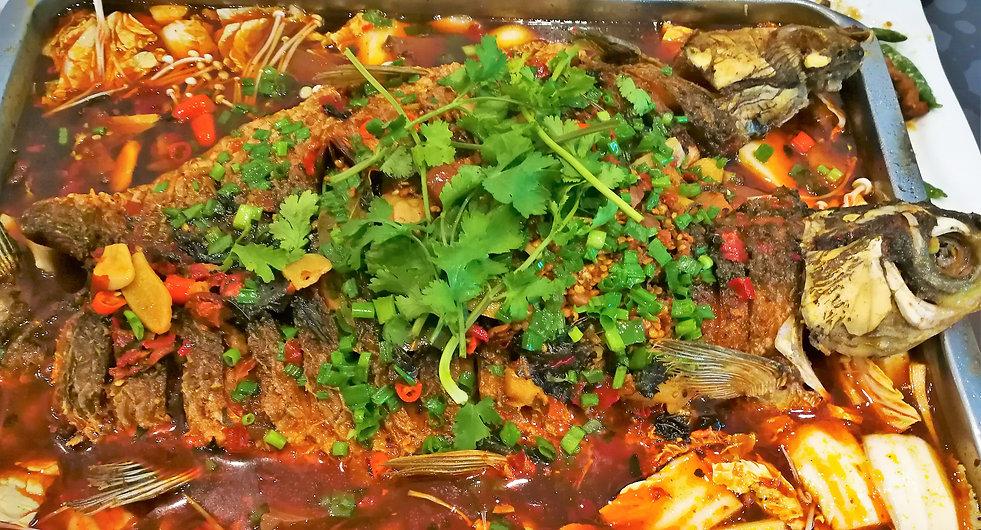 Wind dried fish dish, Hangzhou