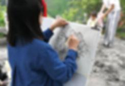 Painters at Yandangshan