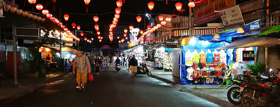 Night market, Phu Quoc
