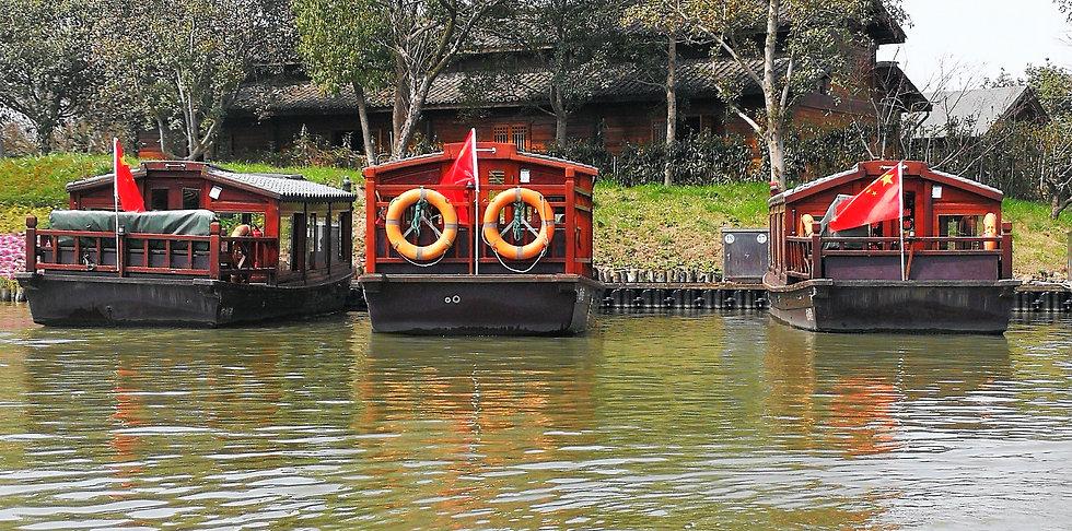 Boats at Xixi