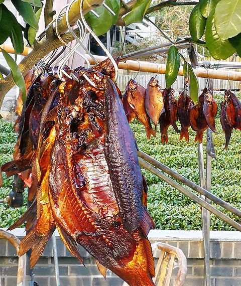 Wind dried fish in Hangzhou