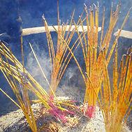 QingmingFesztivál, füstölők