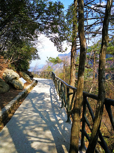 Daming-hegy, gyalogút