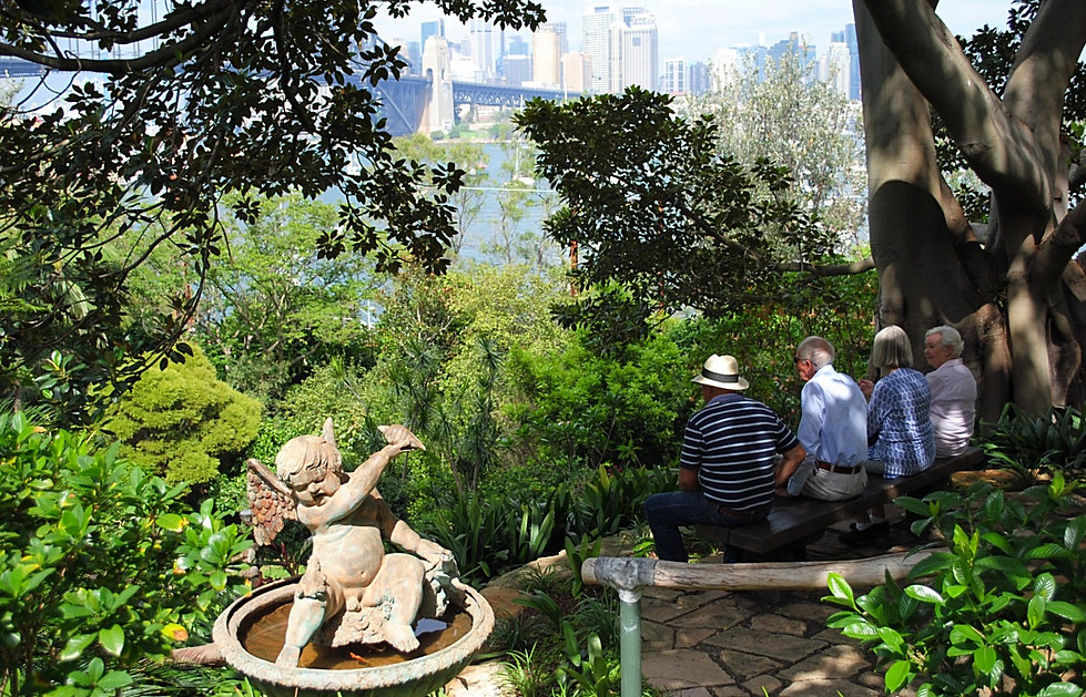 Sydney, Secret garden