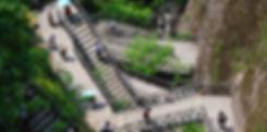Stairs at Nineteen peaks