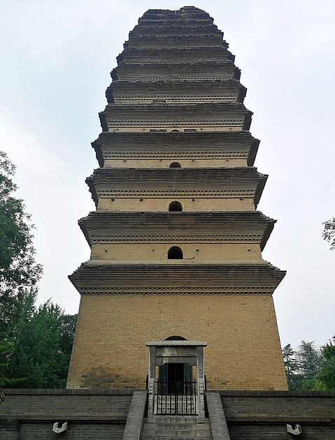 Small wilde goose pagoda, Xian
