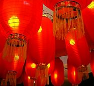 Kínai lámpások
