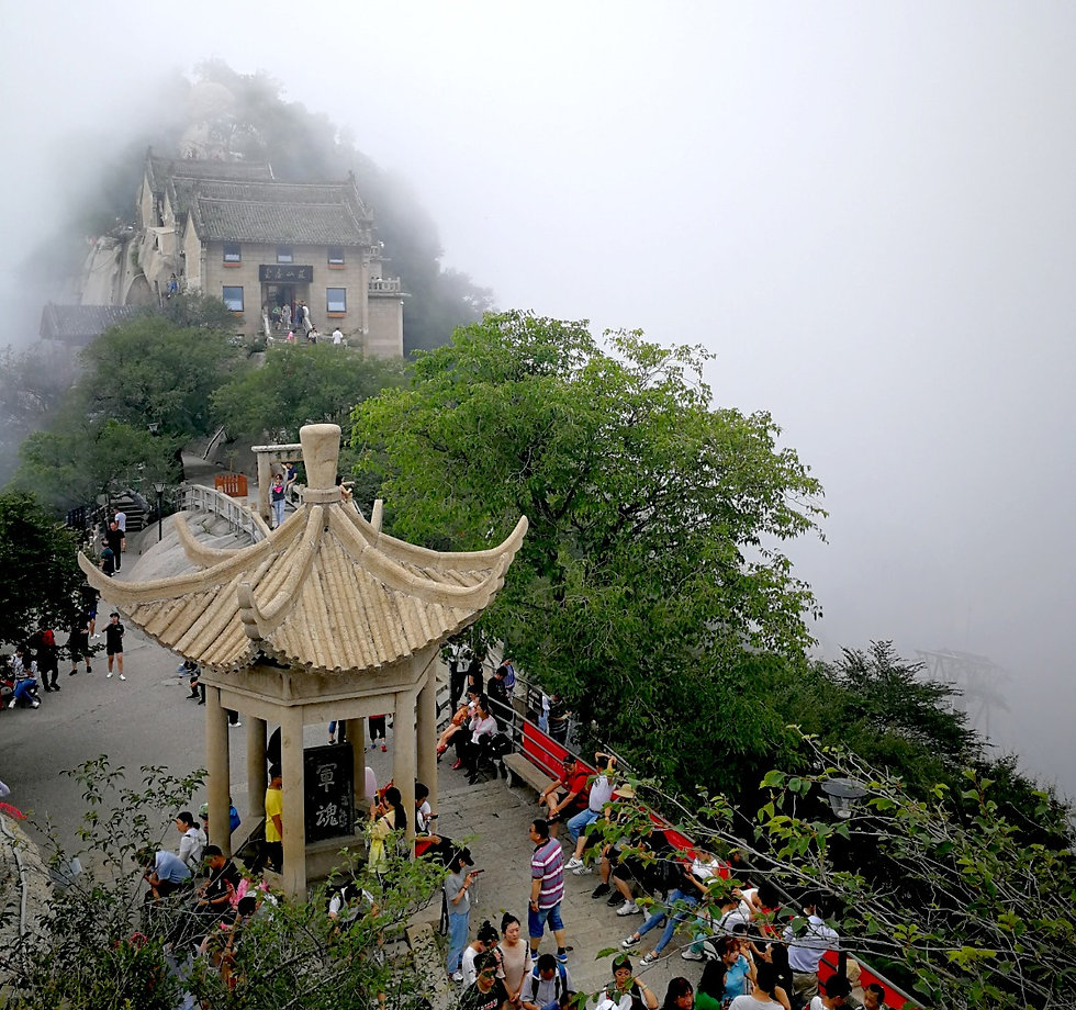 Huashan, North peak